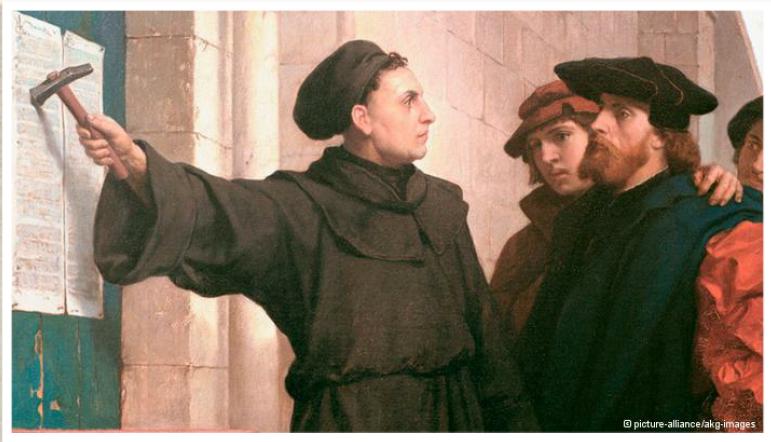 95 тезисов Мартина Лютера
